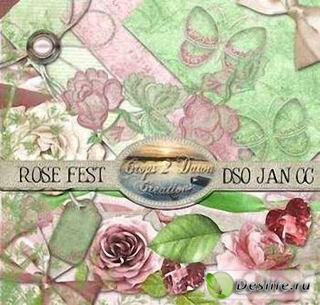Скрап-набор – Rose Fest