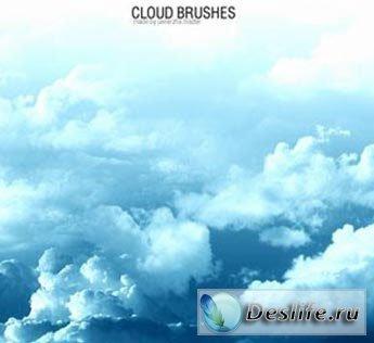 Облака - кисти для фотошопа