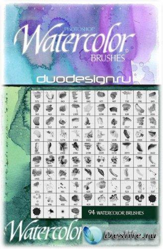 Вода в цвете - Кисти для фотошопа