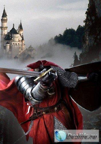 Костюм для фотошопа - король Камелота / кnight Kamelot