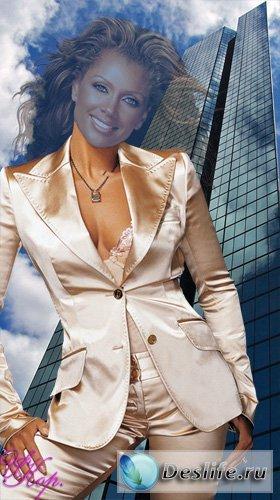 Бизнес-леди - Костюм для фотошопа