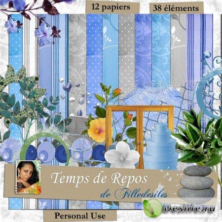 Скрап-набор – Temps de Repos