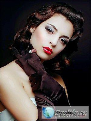 Портрет Леди - Костюм для фотошопа