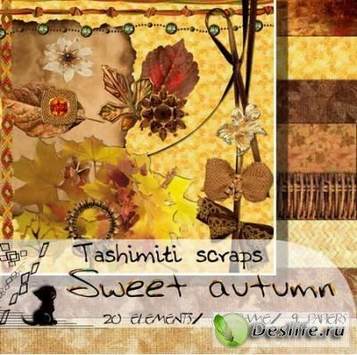Скрап-набор – Милая Осень