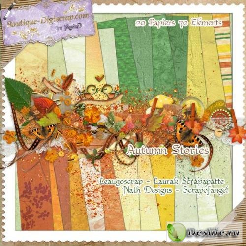 Скрап-набор – Autumn Stories / Осенние истории