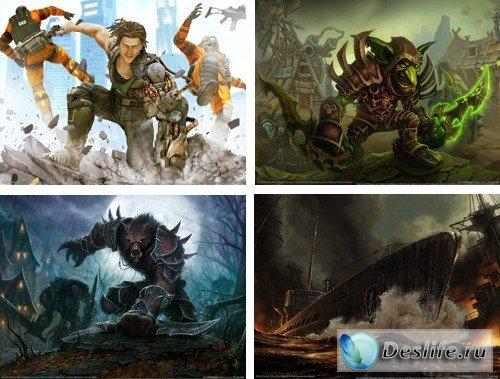 Обои - Wallpapers на игровую тематику 2009 года