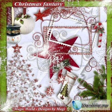 Скрап-набор – Christmas fantasy