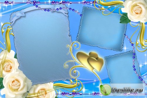 Свадебная рамочка - Рамка для фотошопа