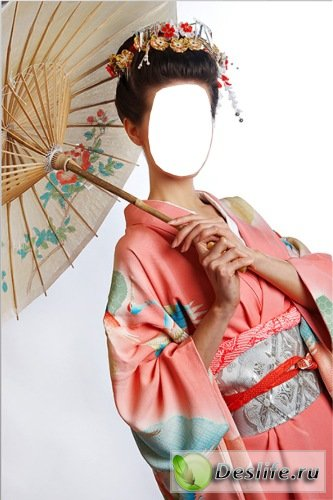 Кимоно - Костюм для фотошопа