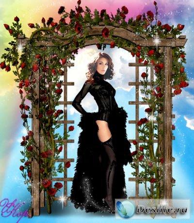 Мечта - Женский костюм для фотошопа