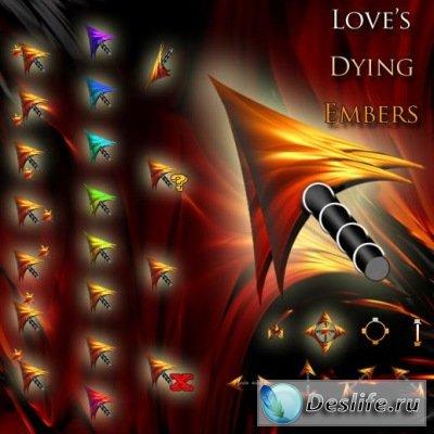 Love's, Dying, Embers - Курсоры XP/Vista