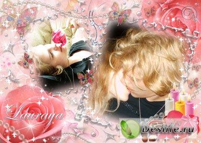 Чудо любовь - Рамка для фотошопа