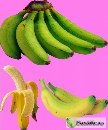 Бананы - Растровый клипарт