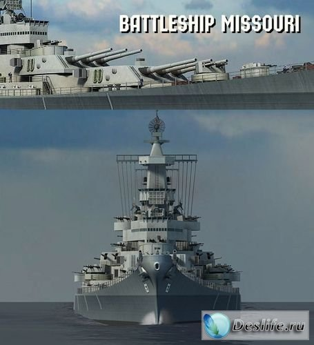 3D Planesoft - Battleship Missouri 3D Screensaver v1.0.0.2