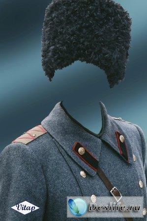 Костюм для фотошопа – Белый генерал