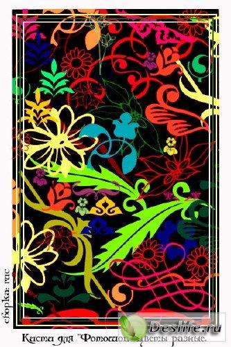 Кисти для Фотошоп: Цветы разные