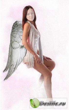 Белый ангел - Костюм для фотошопа