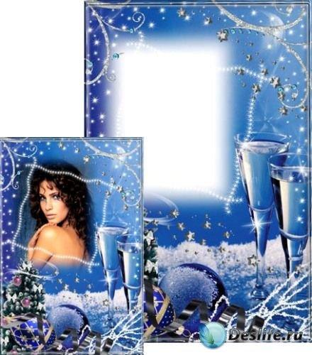 Рамка для фотошопа - Волшебная ночь