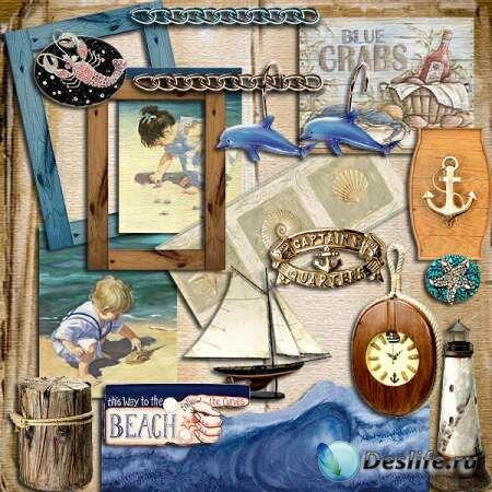 Морской Мир (Sea World) - Скрап-набор