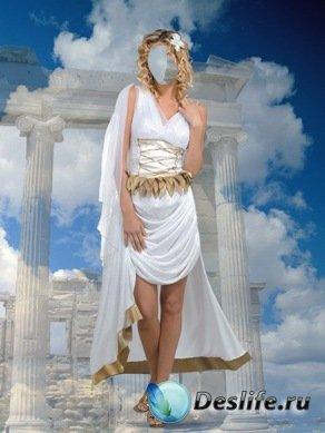 Греция - Костюм для фотошопа
