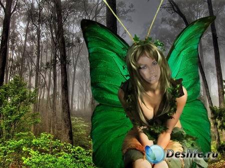 Лесная Бабочка - Костюм для фотошопа