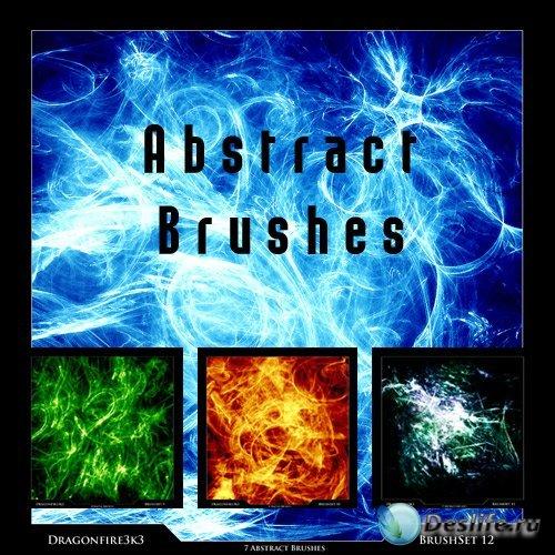 Dragonfire3k3 Brush Sets - Абстрактные кисти для фотошопа