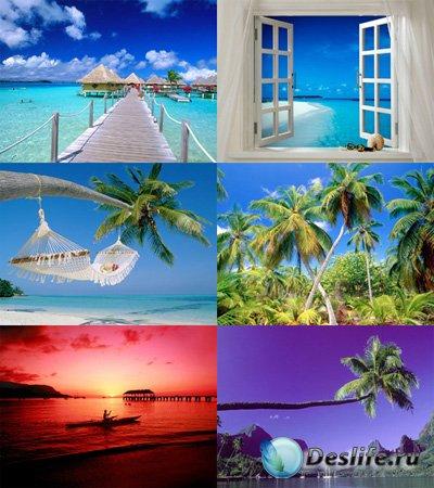 Тропический рай - Обои для рабочего стола 1600x1200