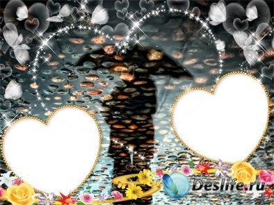 Вечернее очарование - Рамка для фотошопа