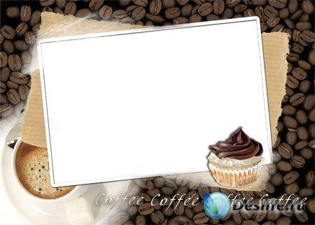 Рамка для фотошоп – Coffee