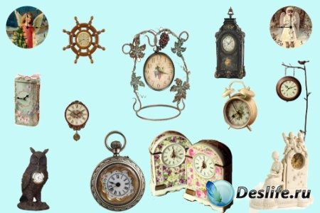 Клипарт – Оригинальные часы
