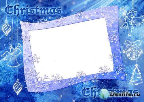 Рамка для фотошоп – Christmas / Рождество