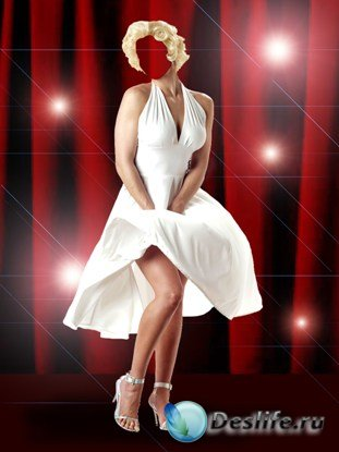 Мэрилин - Женский костюм для фотошопа