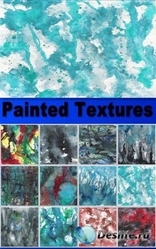 Painted textures - Текстуры