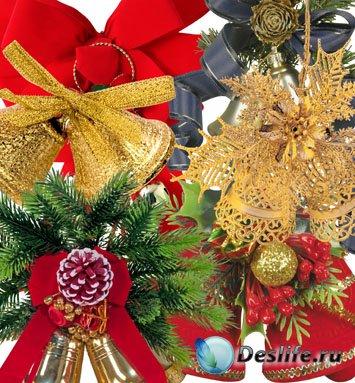 Клипарт - Новогодние колокола