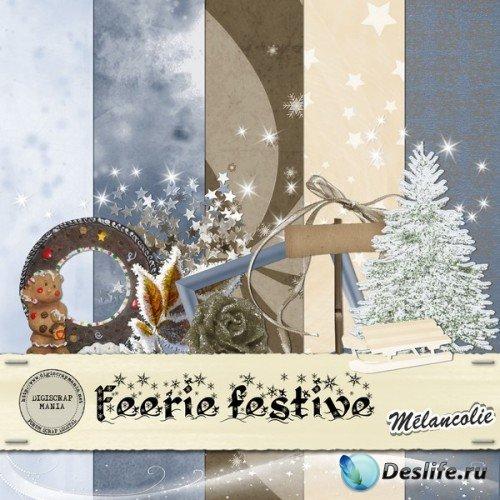 Скрап-набор – Feerie festive