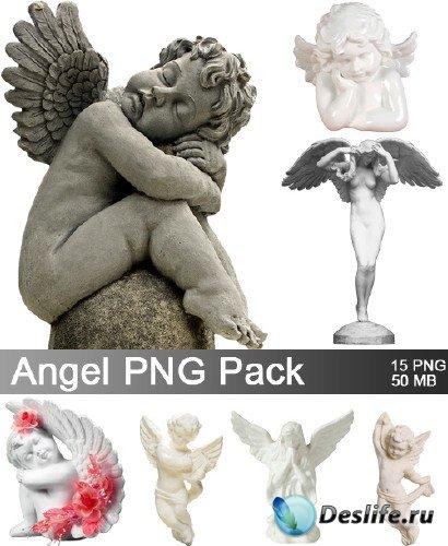 Статуэтки ангелов PNG