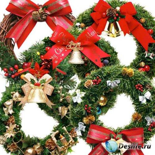Набор рождественских рамочек