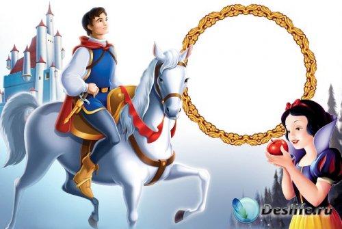Рамка для фотошопа - Прекрасный принц