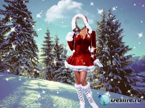 Костюм для фото - Волшебная зима