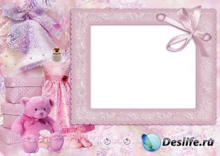 Рамка для фотошоп – Для девочки