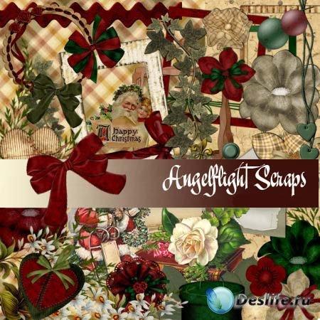 Скрап-набор – Christmas Past / Минувшее рождество