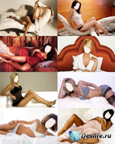 Костюмы для фотошопа - Девушки на диване