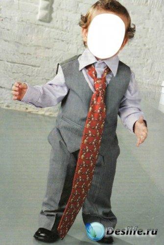 Костюм для фотошопа - Маленький джентельмен