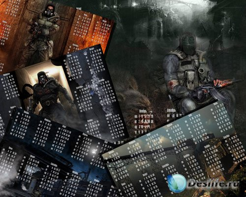 Календари на 2010 год - Сталкер