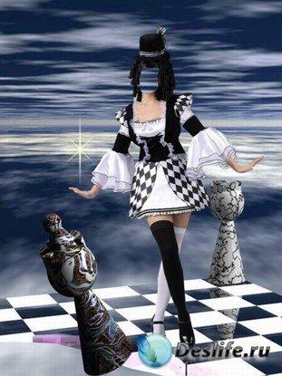 Костюм для фотошопа - Шахматы