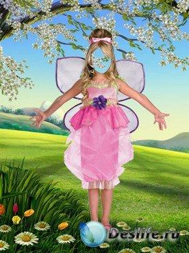 Костюм для фотошопа - Бабочка