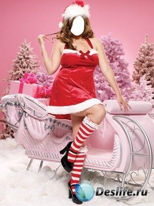 Костюм для фотошопа - Санта