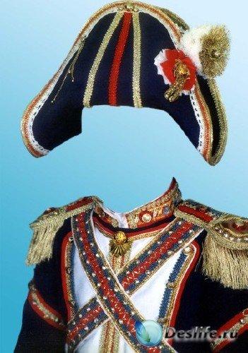 Костюм для фотошопа – Маленький Наполеон