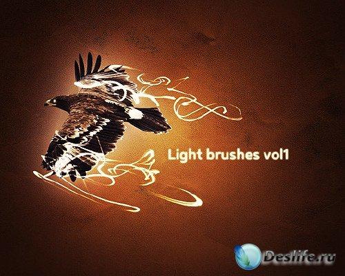 Cветовые эффекты - Кисти для фотошопа (Light Effect Brushes)