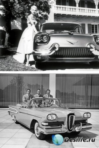 Ретро автомобили, ч/б фото (part 2)